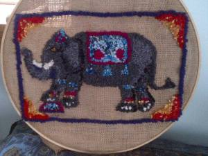 elephant  - in process